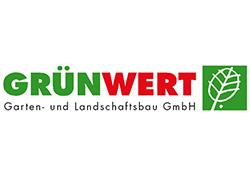 Logo Grünwert Garten- und Landschaftsbau