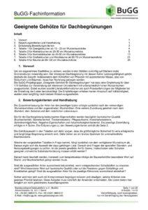 thumbnail of BuGG-Fachinformation_Geeignete_Gehoelze_fuer_Dachbegruenungen_mit_Pflanzlisten