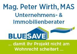 Logo BLUESAVE | Unternehmens- und Immobilienberater