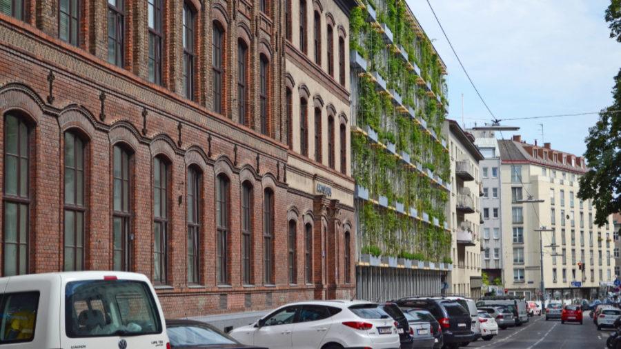 Grüne Wand, MA 31, 1060 Wien