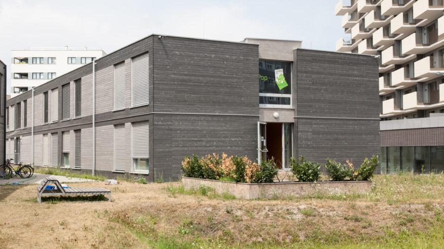 PopUp dorms in der Seestadt Aspern - @OeAD-WV, N. Hainfellner