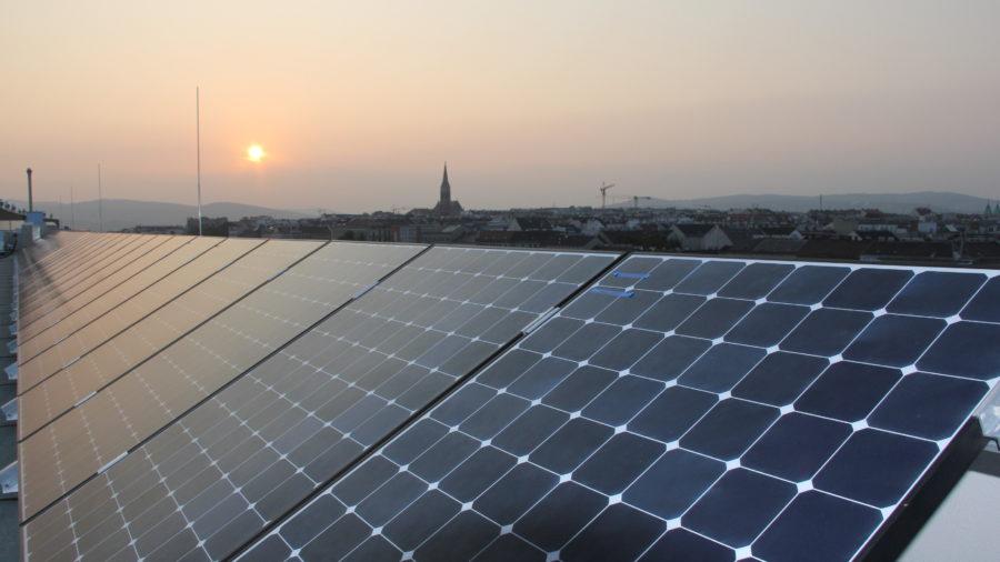 Photovoltarikanlage auf dem OeAD-Gästerhaus Gasgasse - @OeAD-WV, N. Hainfellner