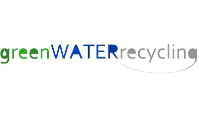 Logo von greenWATERrecycling