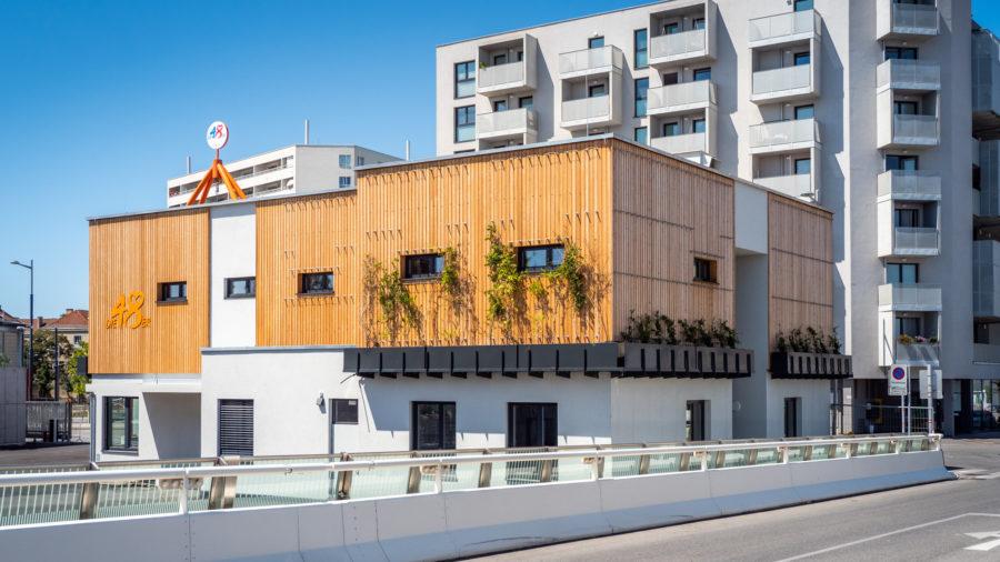 neues Betriebsgebäude