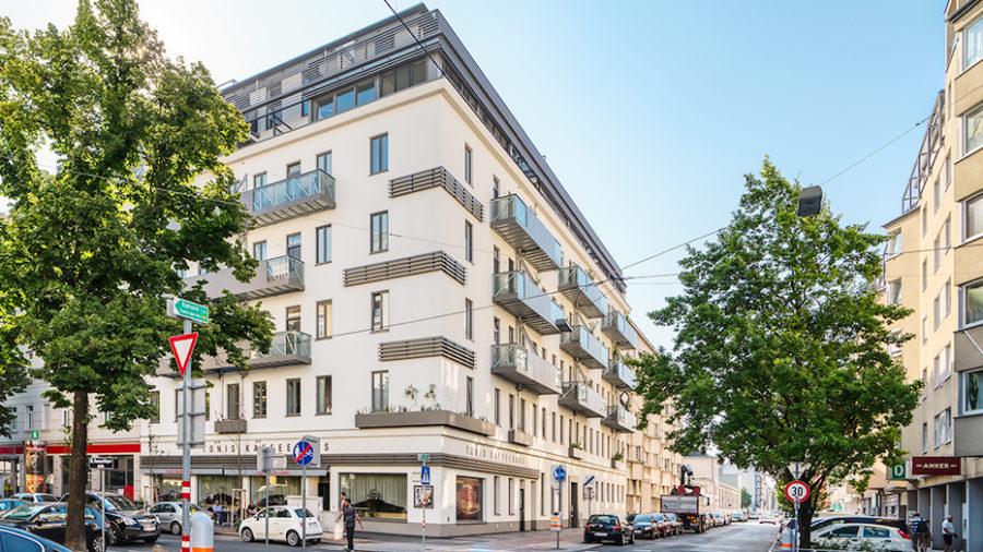 Projekt GREEN CORNER, Leystraße 81, 1200 Wien