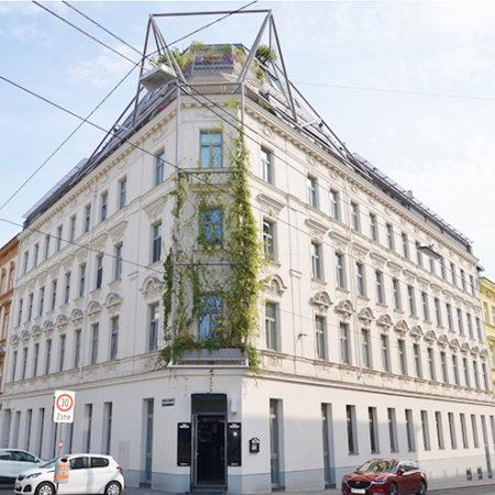 Logo von Begrüntes Haus in der Goldschlagstraße, 1140 Wien
