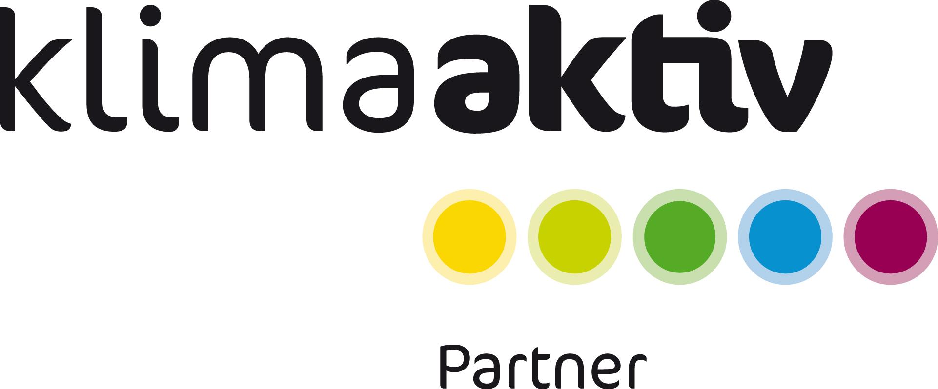 Logo klimaaktiv Partner